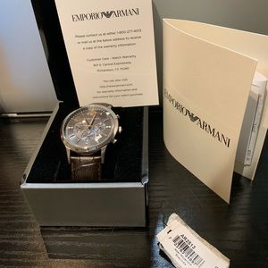 Emporio Armani AR2457 watch.